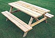 Picnic Table Plans 2X6